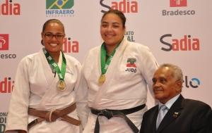 Gabriela Garcia_ 1ª medalhista mundial Aluna professor Joanilson Rodrigues