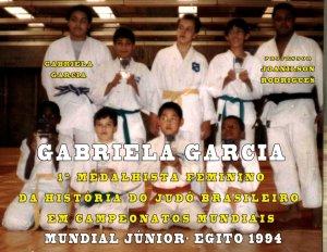 Gabriela Garcia_ 1ª medalhista mundial Aluna professor Joanilson Rodrigues_2